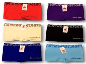 Sweet Angel Microfiber Boxershorts Harts band Sweet Angel 4 stuks