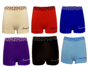 Sweet Angel Microfiber Boxershorts Harts band Sweet Angel 4 pieces