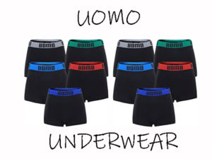 Uomo Microfiber Boxershorts Naadloos colourband 10 stuks medium/large